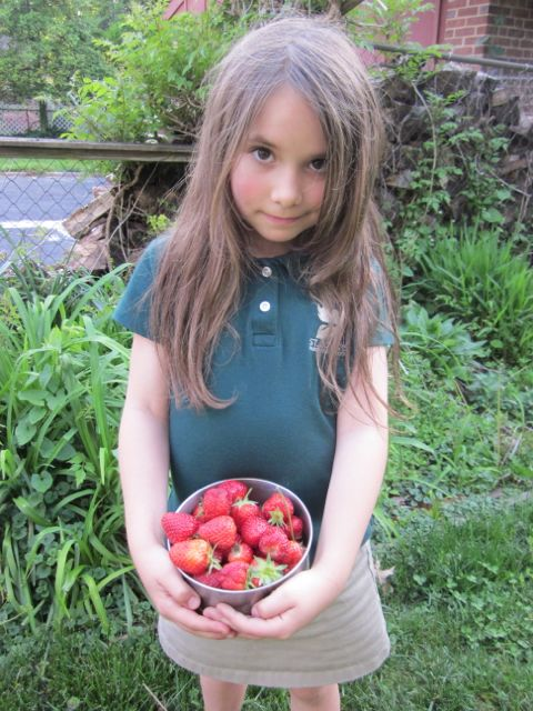 Claire and berries